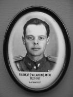 Antal Pálinkás (1922-1957, hingerichtet)