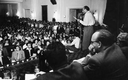 Treffen des Petöfi-Kreises am 27. Juni 1956