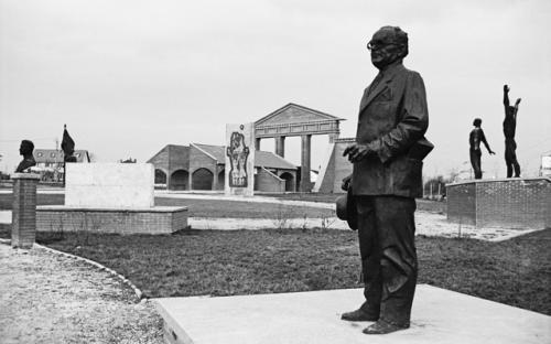 Friedhof der sozialistischen Denkmäler im Szoborpark, 1998