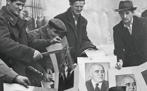Bildband mit den Fotos von Erich Lessing