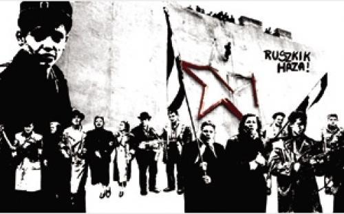 """""""Russen nach Hause!"""""""